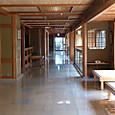 石和温泉かげつ旅館内廊下